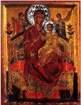 """Maica Domnului """"Pantanassa"""" Vindecatoarea de cancer – Manastirea Vatoped"""