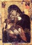 """Maica Domnului """"Glykophilousa"""" – Manastirea Filoteu"""