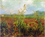 Green Corn Stalks Van Gogh