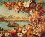 island-and-flower-garland_De Chirico
